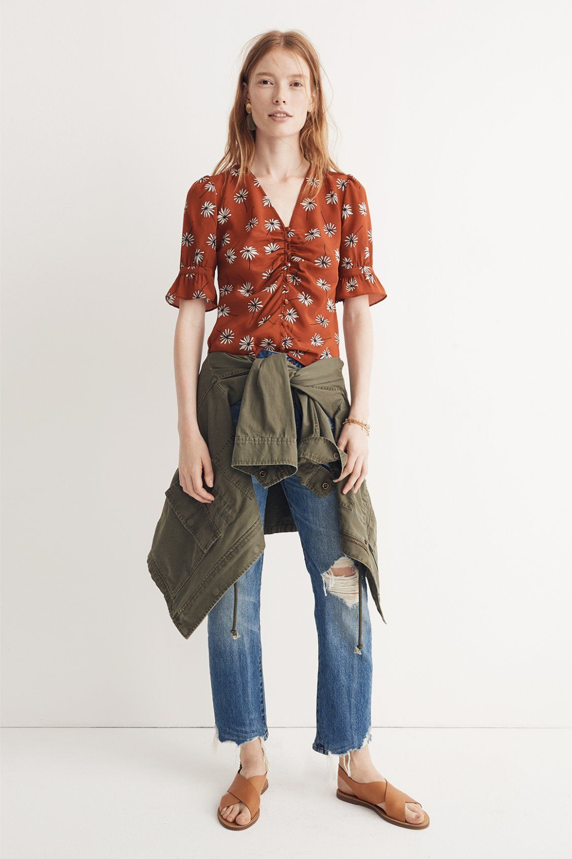 460fd2b5862b madewell daylight top worn with the perfect summer jean  destructed ...