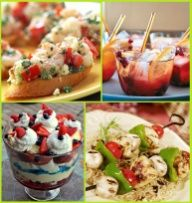 Summer Party Food Ideas: Memorial Day Weekend, 4th of July, and Labor Day
