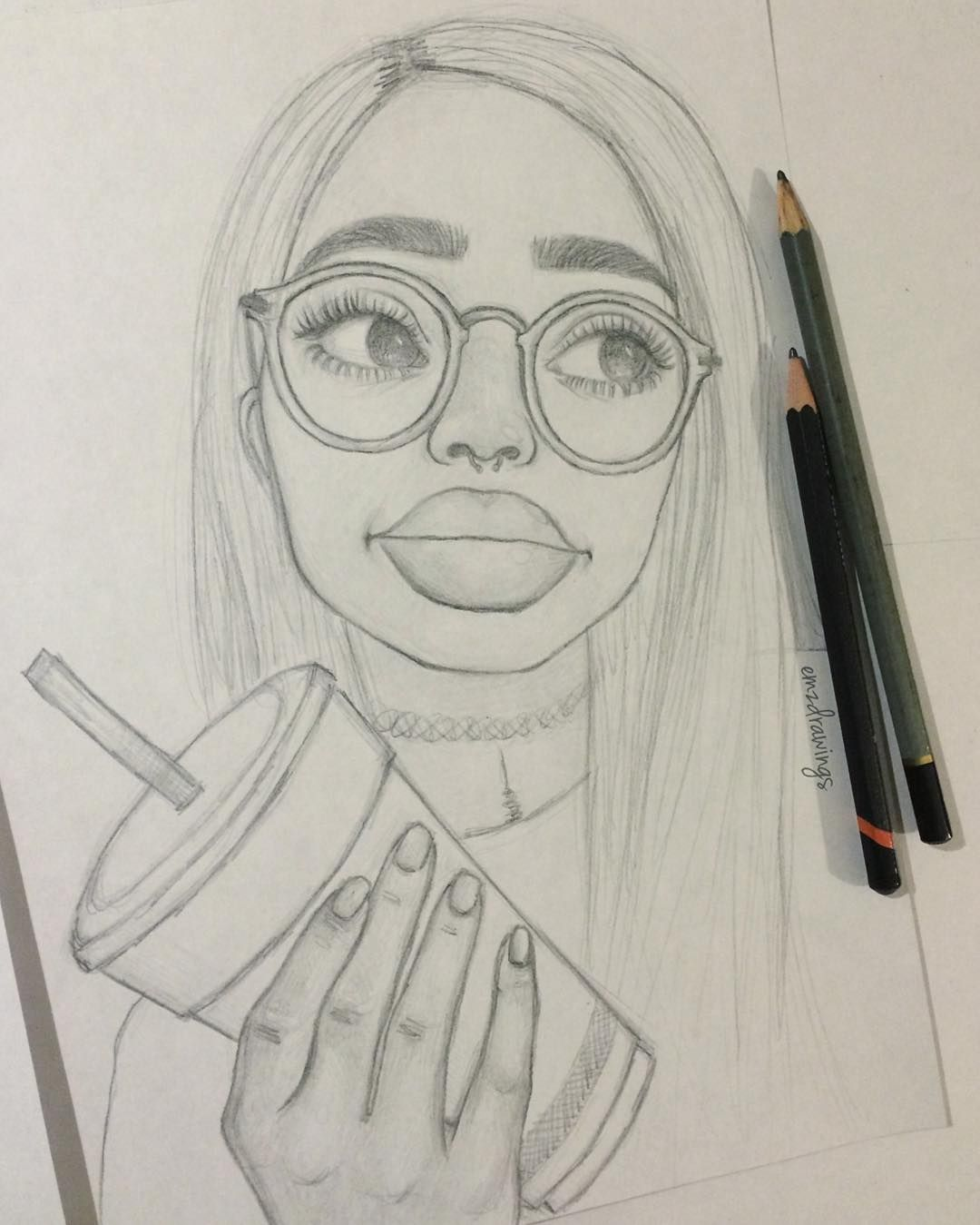 See this instagram photo by emzdrawings likes for Weird drawing ideas