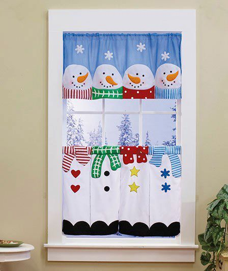 Snowmen for your Window . . .