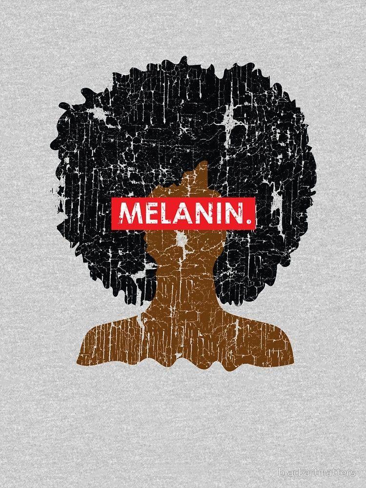 Melanin Distressed Afro By Blackartmatters Africanhairstyles Black Girl Art Black Lives Matter Art Black Love Art