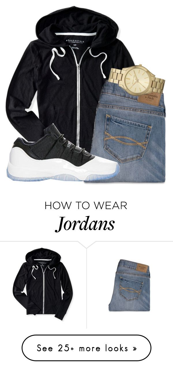 """untitled 82"" by mmapp on Polyvore featuring Aéropostale, Abercrombie & Fitch, Retrò, Michael Kors, michaelkors, jordans and 2016"