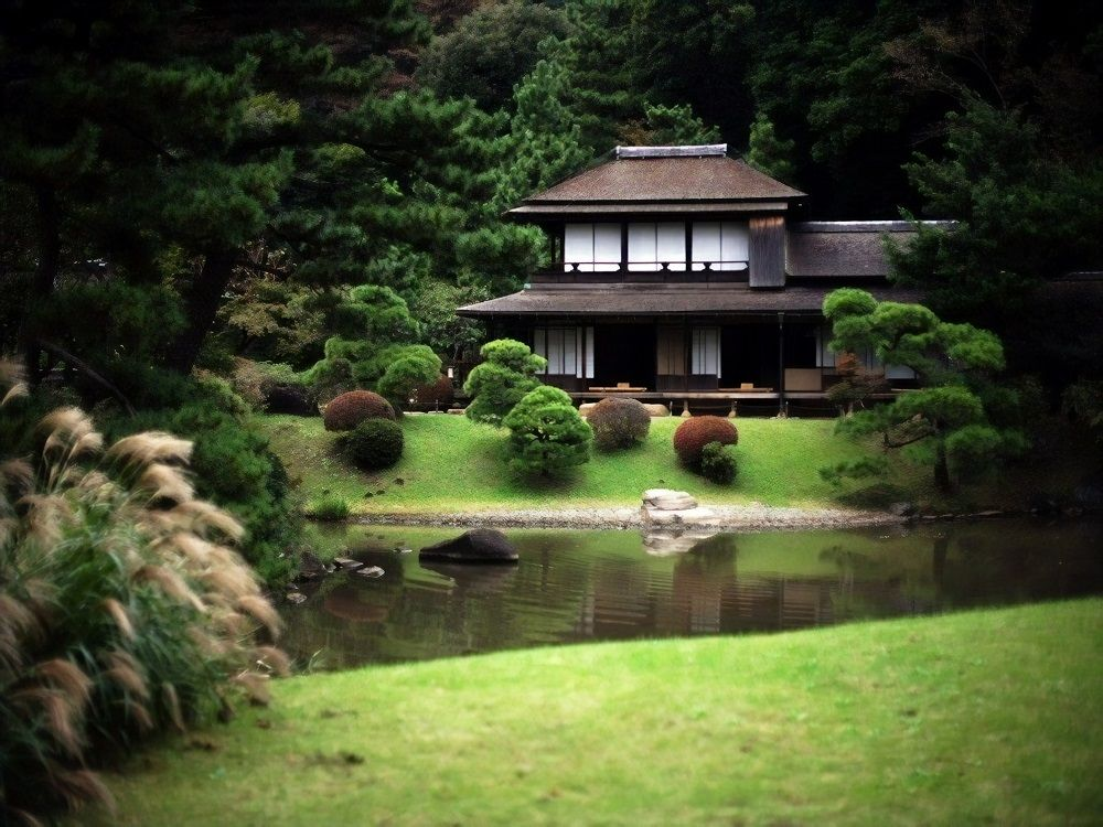 Beautiful Scenes Free Download Japanese House Traditional Japanese House Japanese Home Design