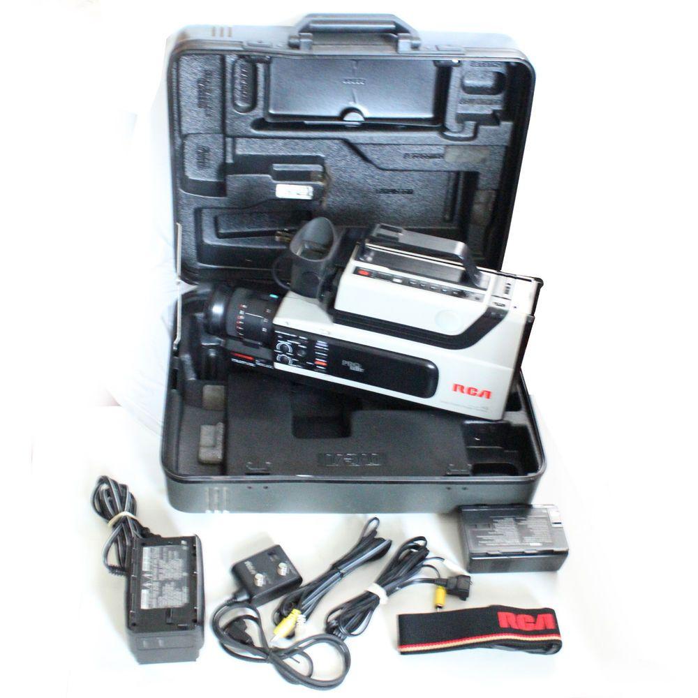 1988 Rca Vhs Camcorder Pro Wonder Pro Edit Model Cc310 Vintage Rca Coach Swagger Bag Coach Ebay