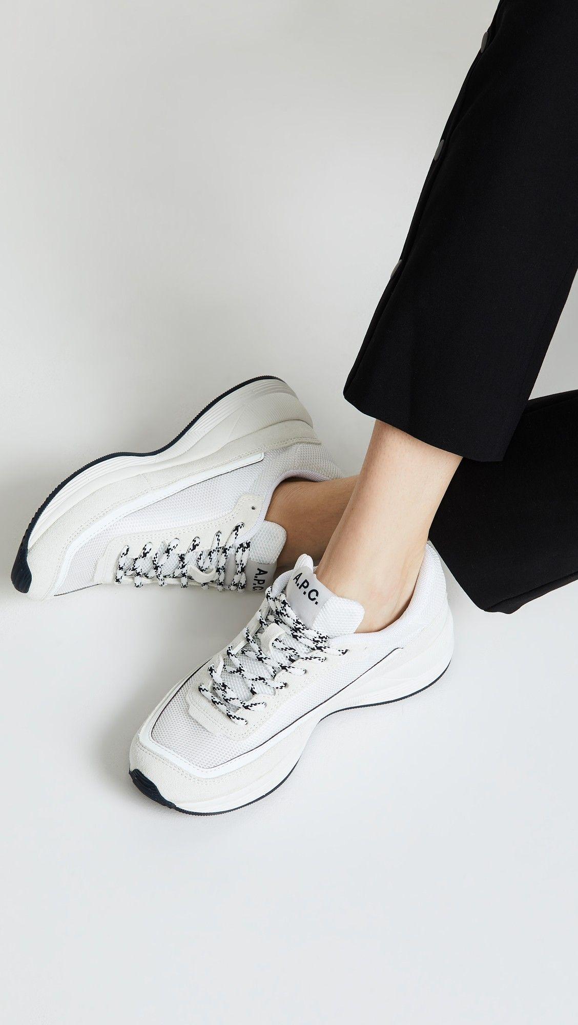 A.P.C. Running Mesh Sneakers | Sneakers