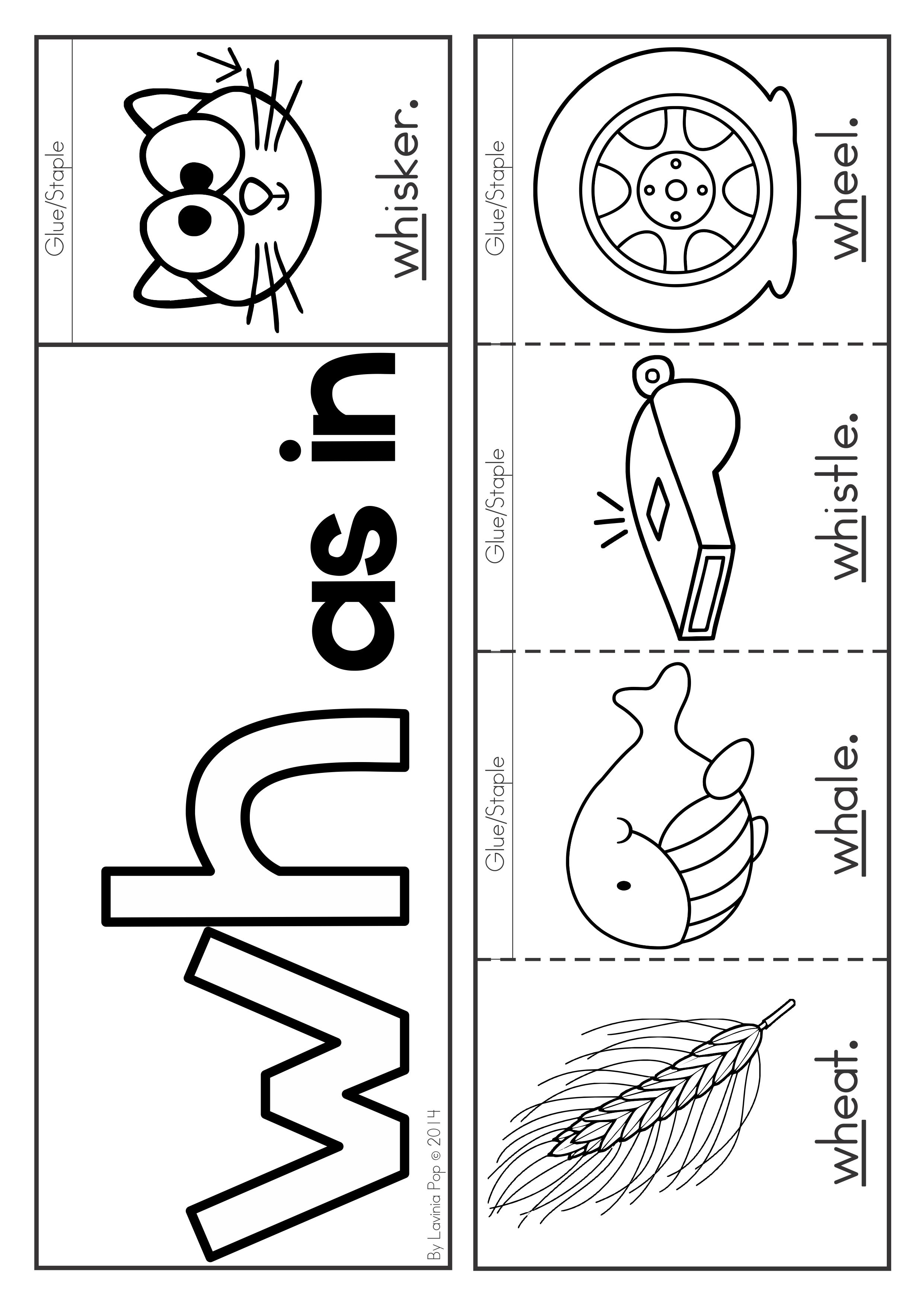 Free Digraph Wh Phonics Word Work Multiple Phonograms Flip Book With Recording Pages Phonics Kindergarten Reading Activities Digraph [ 3508 x 2482 Pixel ]