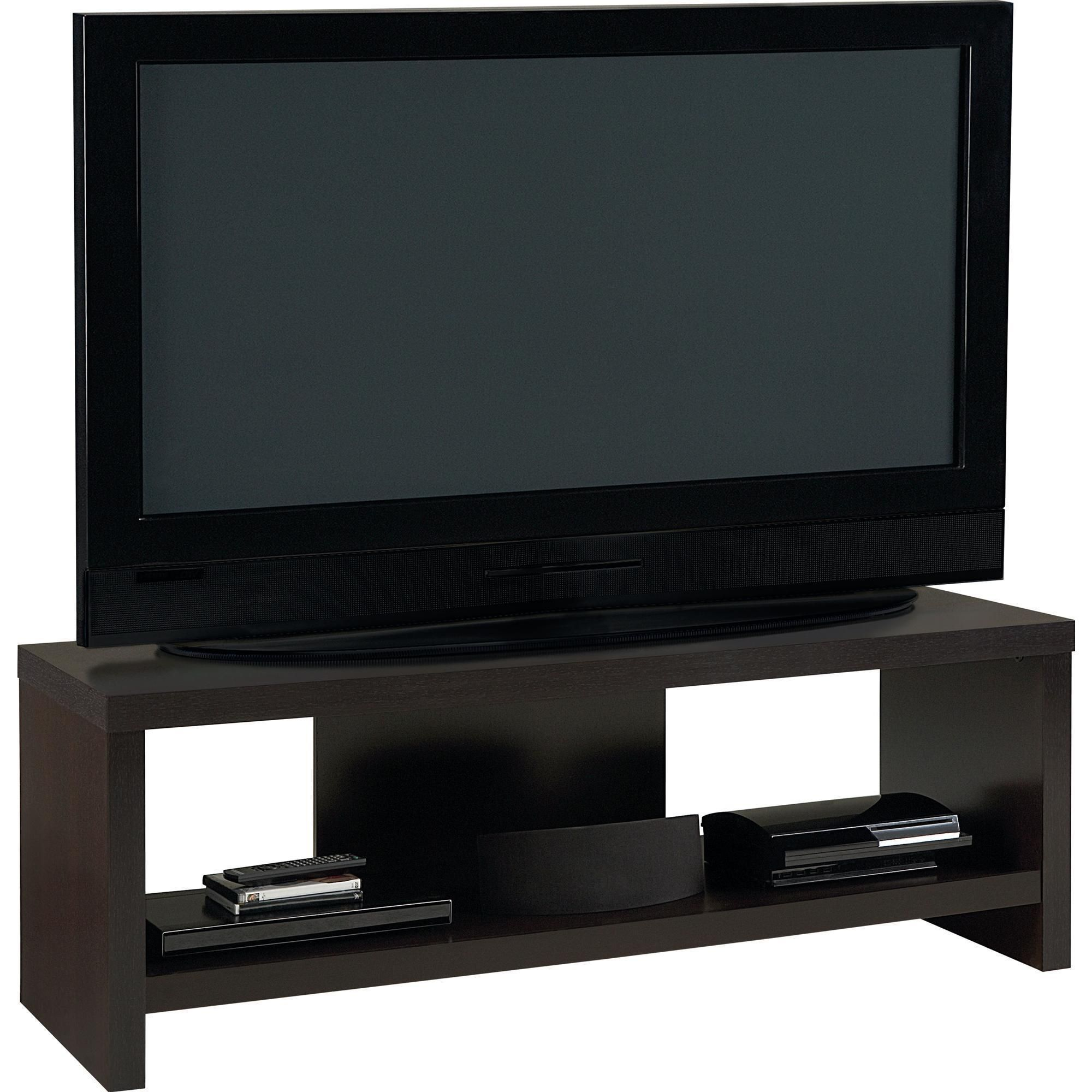 This Sleek Contemporary Tv Stand By Altra Holds Flat Panel Tvs Up