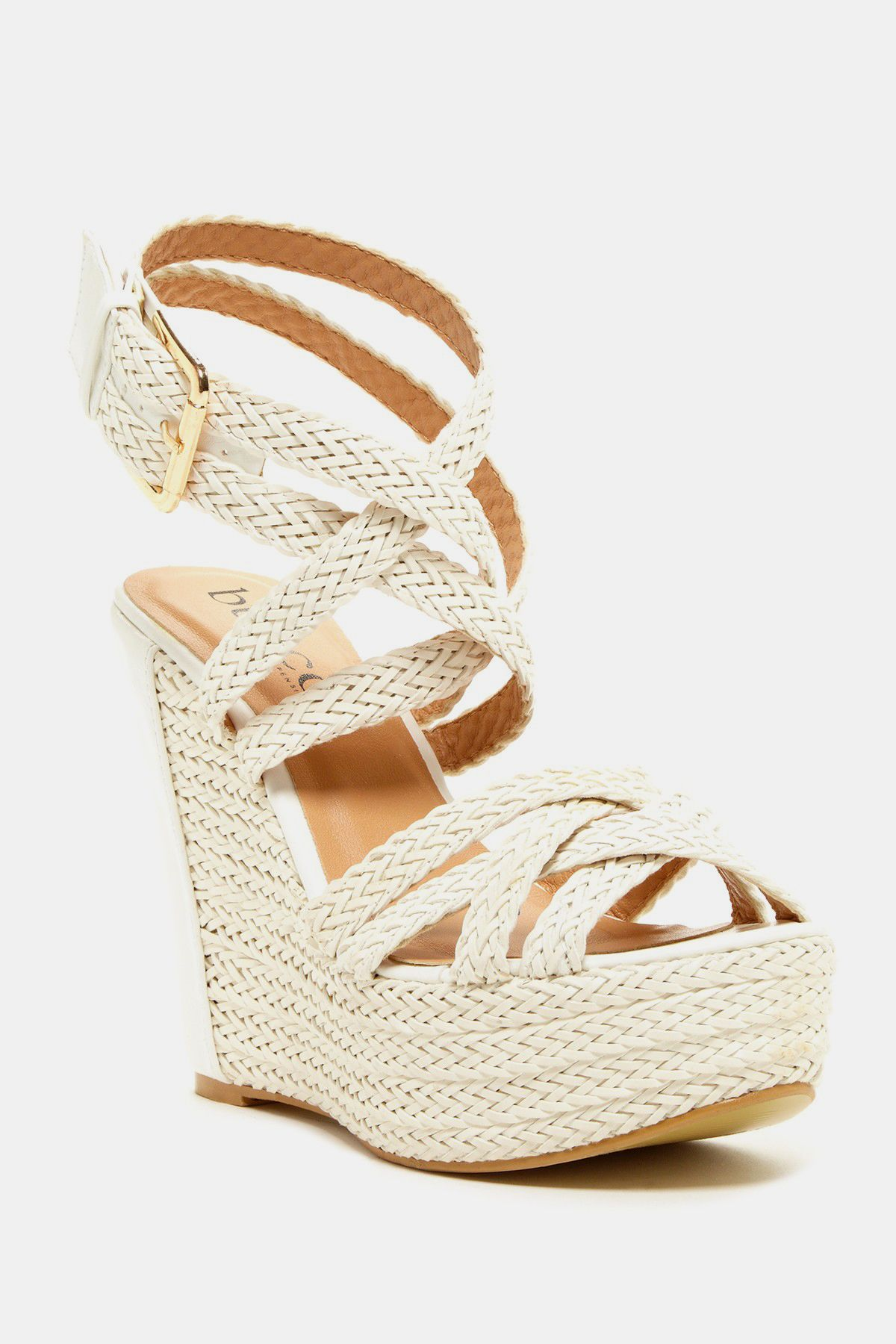Bucco Shane Strappy Wedge Sandal Nordstrom Rack Another