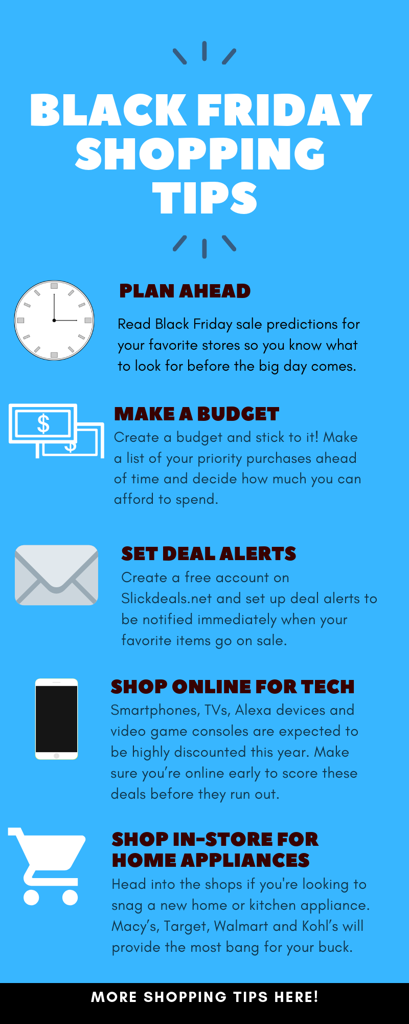 Black Friday Shopping Tips 2018 Black Friday Black Friday Shopping Shopping Hacks