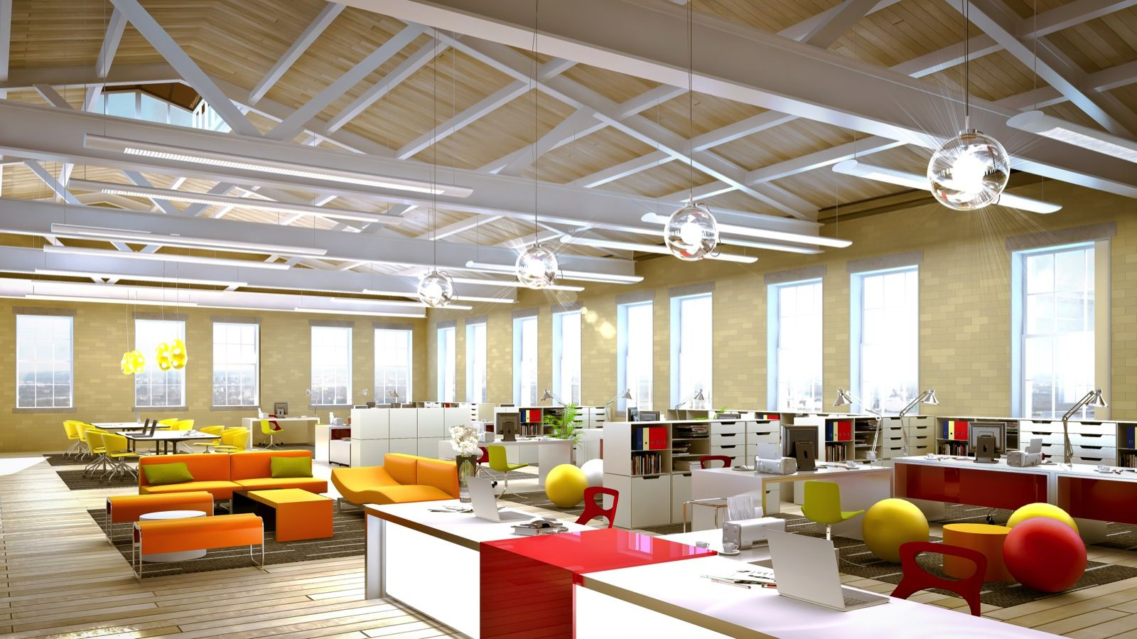 the creative office. Fourth Floor Rendering Of Building E With Original Architecture The Creative Office .