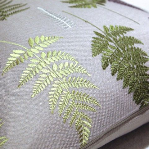Image result for embroidered leaves