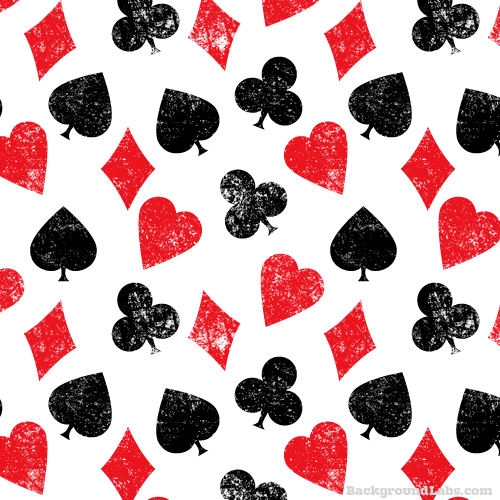 playing cards symbols pattern background labs