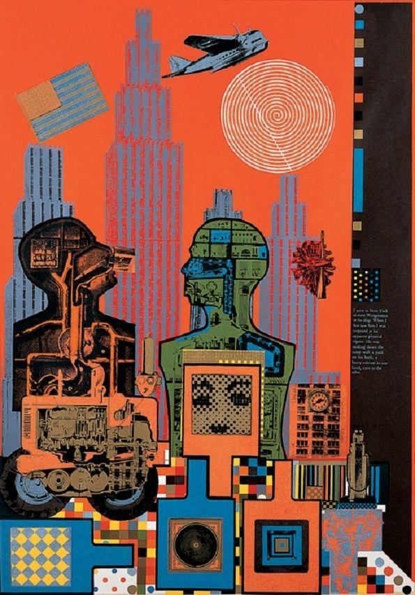 Très Eduardo Paolozzi Pop Art | dessin | Pinterest | Affiches et Dessin BD06
