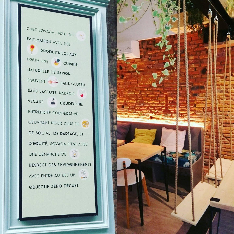 Sovaga Comptoir Vegetal Et Gourmand 14 Rue Des Lois A Toulouse Cuisine Naturelle Fait Maison Recette Vegetarienne