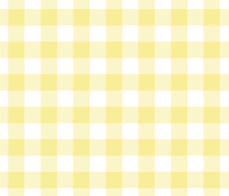 Small Yellow Buffalo Check Gingham Fabric Sugarfresh Spoonflower Cute Patterns Wallpaper Iphone Wallpaper Tumblr Aesthetic Soft Wallpaper