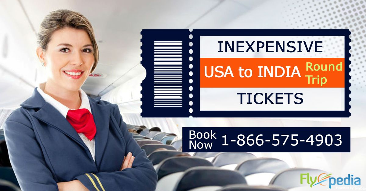 Get cheap flights from the #USA to #India with #Flyopedia. Grab discounted deals on round trip tickets to India. Hurry up and book your flight now.   For more information call us at- 1-866-575-4903 (Toll-Free).  #TraveltoIndia #RoundTrip #CheapFlightDeals #incredibleindia #beautifulindia #explore #discover #tours #travels #flights #FlightDeals #CheapFlightBooking