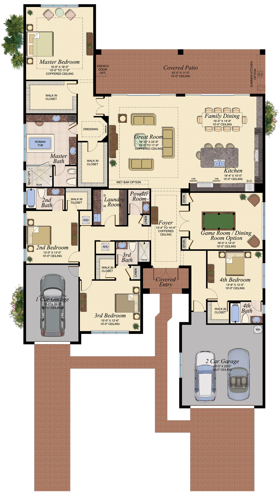 Napa 1 Floor Plan Home Design Floor Plans House Blueprints Modern House Plans