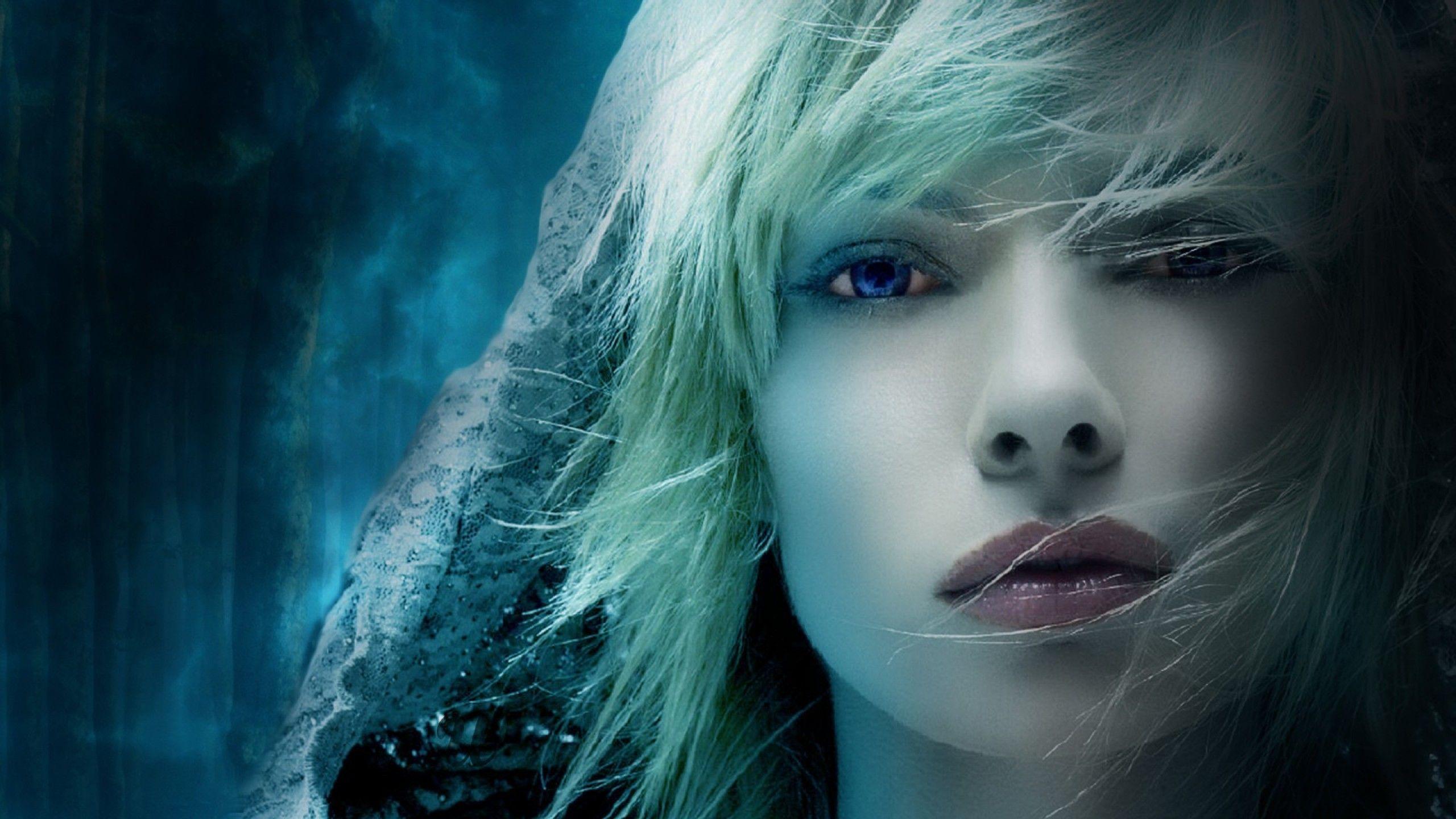 blue eyes girl wallpaper 1440×792 best wallpapers for girls (60