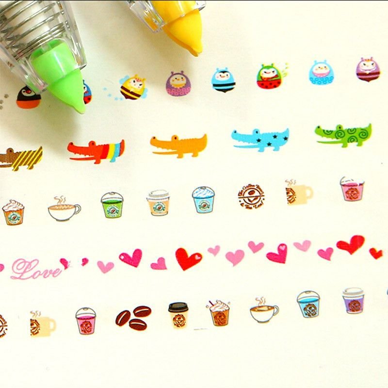 Kawaii Special Edition Deco Tape.  I want the alligators!!!