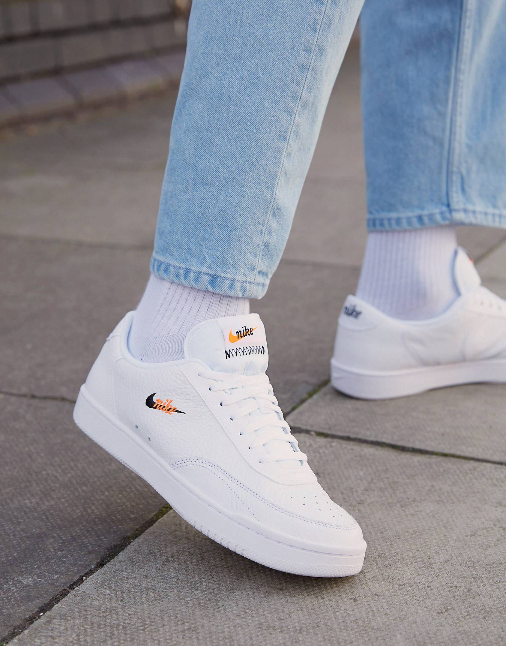 Pin By Calvin Stobrawe On Fashion In 2020 Leather Trainers Vintage Nike Nike