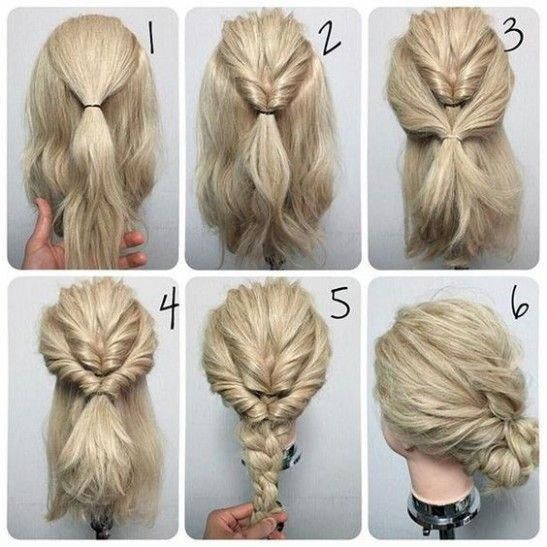 Easy Hairstyles Beginners Can Do Easyhairstyles Easy