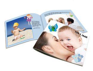 Een handig meeneem fotoboekje van 14 x 13 cm, ideaal om van een kort uitstapje een fotoalbum te maken. #fotoalbum #babyalbum