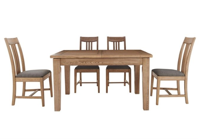 Ideal As A Kitchen Dining Set But Also Beautiful In A Small Dining Room Or Open Plan Room The Proven Wooden Dining Table Set Oak Dining Sets Dining Room Small