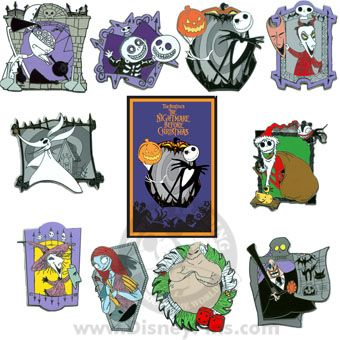 Your WDW Store - Disney Mystery Pin & Card - Nightmare Before ...