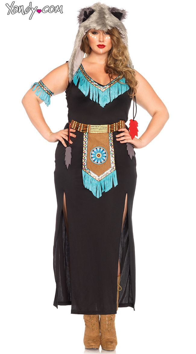 Plus Size Wolf Warrior Costume  Plus Size Indian Costume Plus Size Native American Costume  sc 1 st  Pinterest & Plus Size Wolf Warrior Costume  Plus Size Indian Costume Plus Size ...