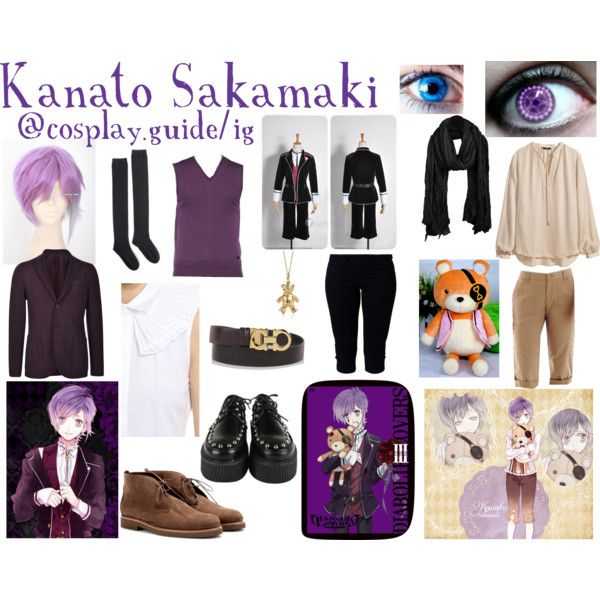 70f2be6426 Kanato sakamaki cosplay outfit diabolik lovers by consultingpolyvorer on  Polyvore featuring Dsquared2