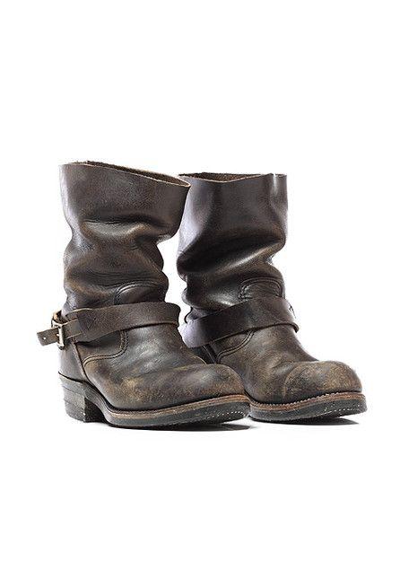 0cd622d60de45 Blackbird Vintage - 70's Steel Toe Engineer Boots in Black ($200-500 ...