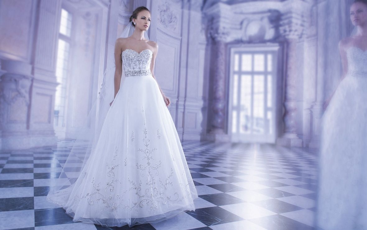 Demetrios wedding dress style ilissa collection sizes