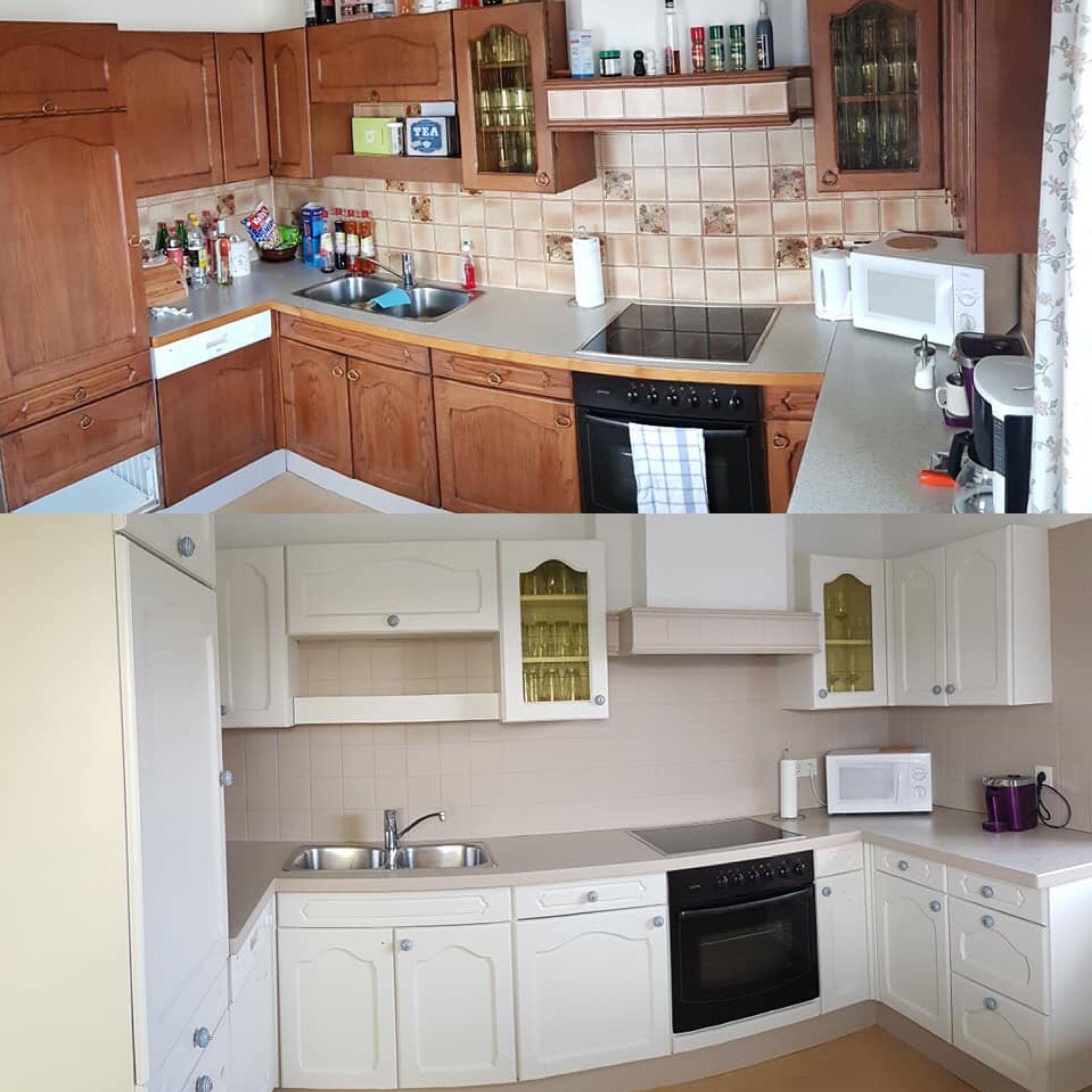Küche Streichen Mit Kreidefarbe Und Kreidelacken Misspompadour Küchen Streichen Küchenumbau Küche