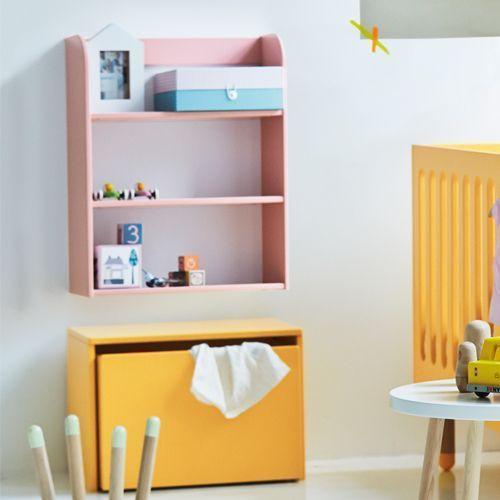 Great Range For Kids Flexa Play Shelf In Rose Pink Storage Bench