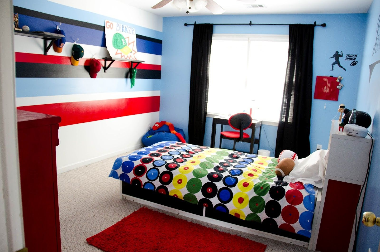 Minimalist Kids Room Before And After