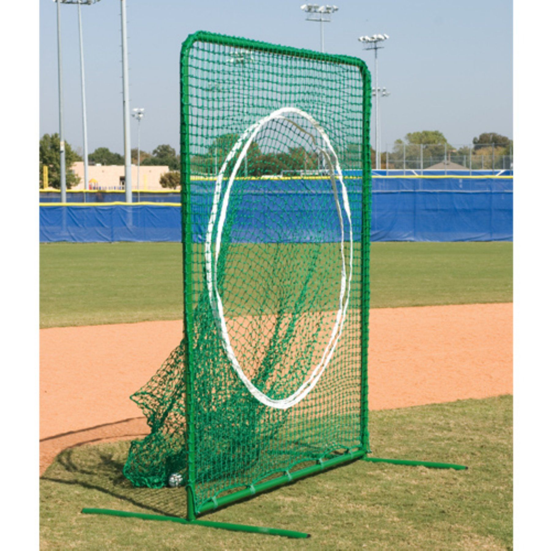 BSN Sports Varsity Sock Net with Frame 7 x 6 ft. - 1195897