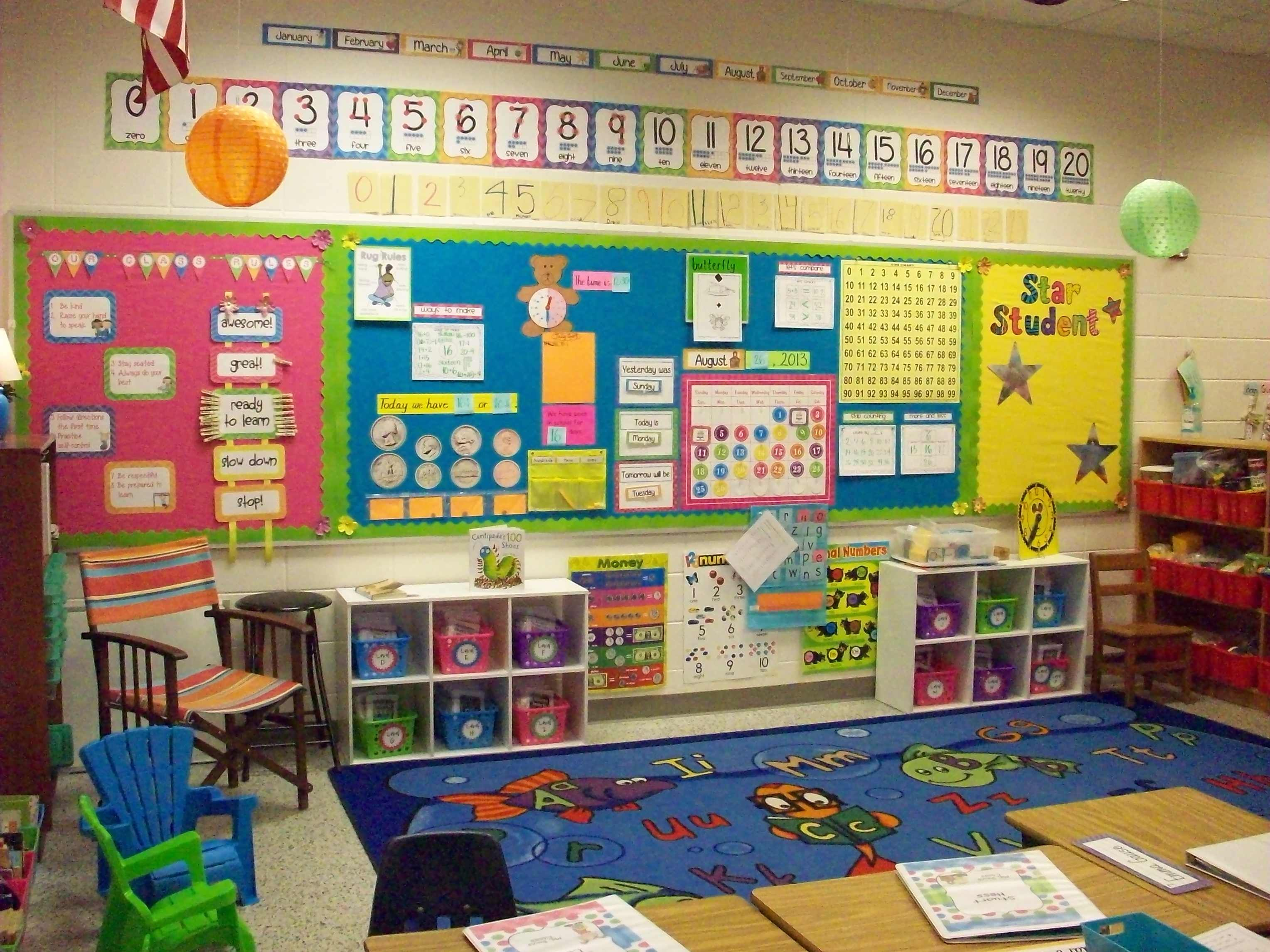 Creative Classroom Decoration For Kindergarten : A first grade classroom tour part it looks so