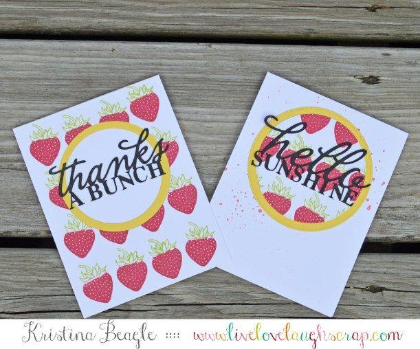 Handmade Cards by Kristina Beagle with Hero Arts
