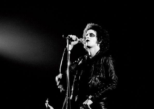 Lou Reed live in Copenhagen, Denmark, 1974.