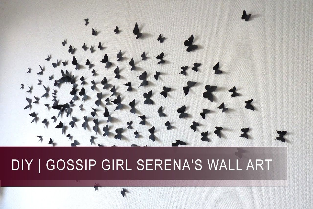 diy pinterest butterfly wall papillons and gossip girls