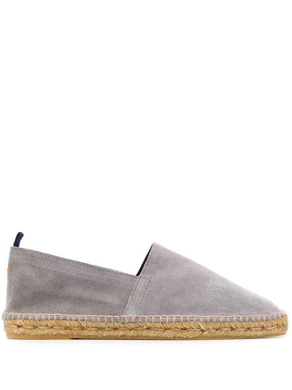 06eeded8a CASTAÑER CASTAÑER BRAIDED RAFFIA ESPADRILLES - GREY. #castañer #shoes