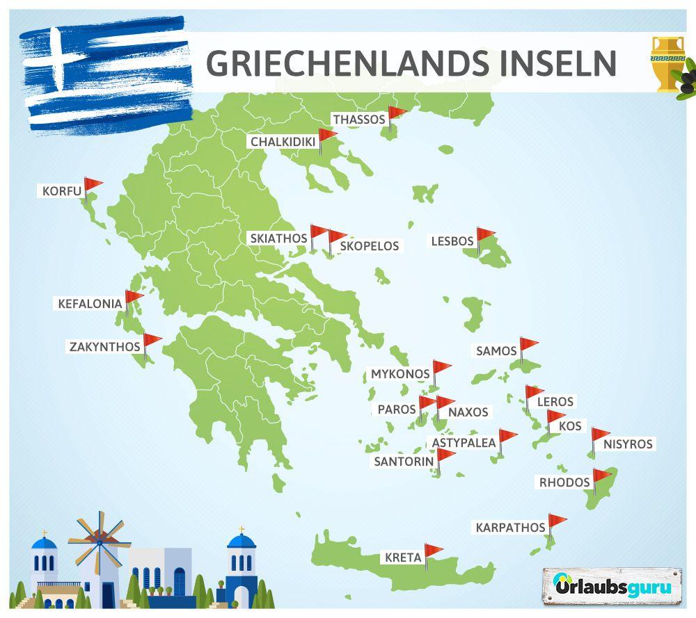 Pin Auf Griechische Inseln