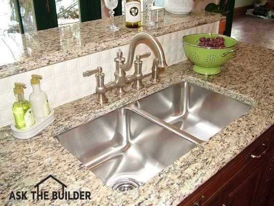 Undermount Kitchen Sinks Are Sleek And Gorgeouskitchen Sinks Pleasing Undermount Kitchen Sink Review