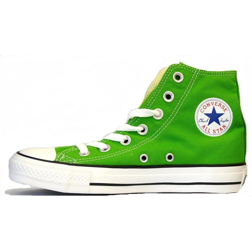 GREEN CONVERSE SHOES   Converse SS12