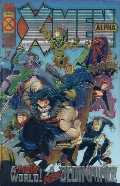 X Men Alpha 1st Blink Marvel Comics Covers X Men Comics