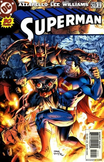 Cover for Superman (May 2005) #215 [Cover B]