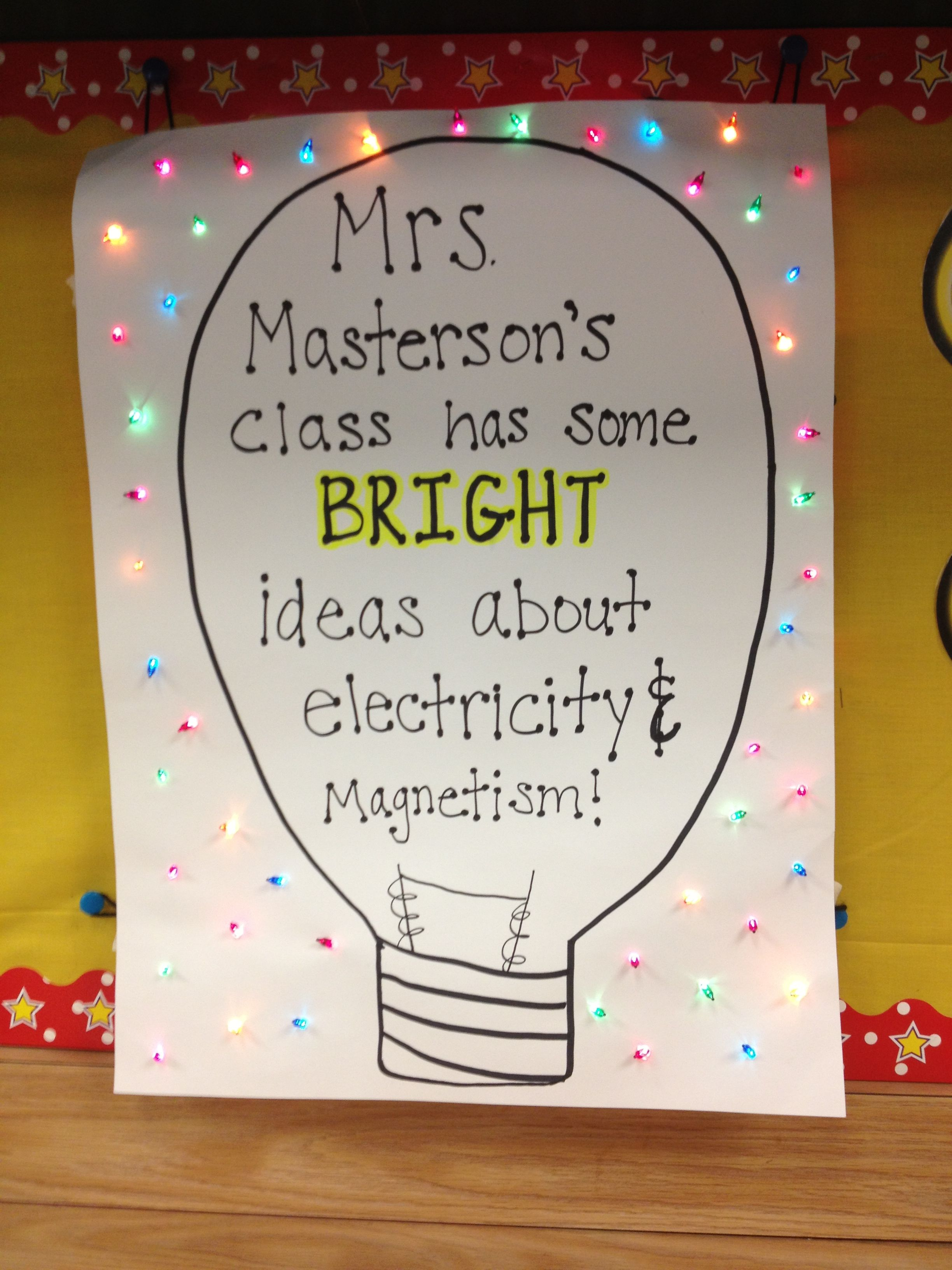 hight resolution of 4th grade poster for electricity and magnetism!   4th grade science