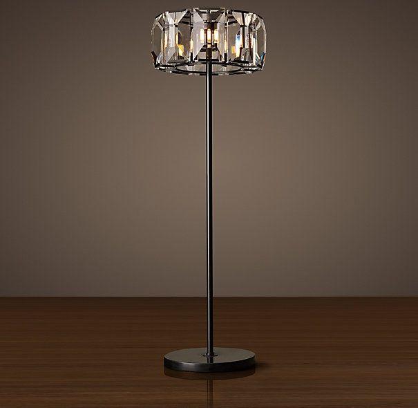 Restoration Hardware Harlow Crystal Floor Lamp Just Beautiful