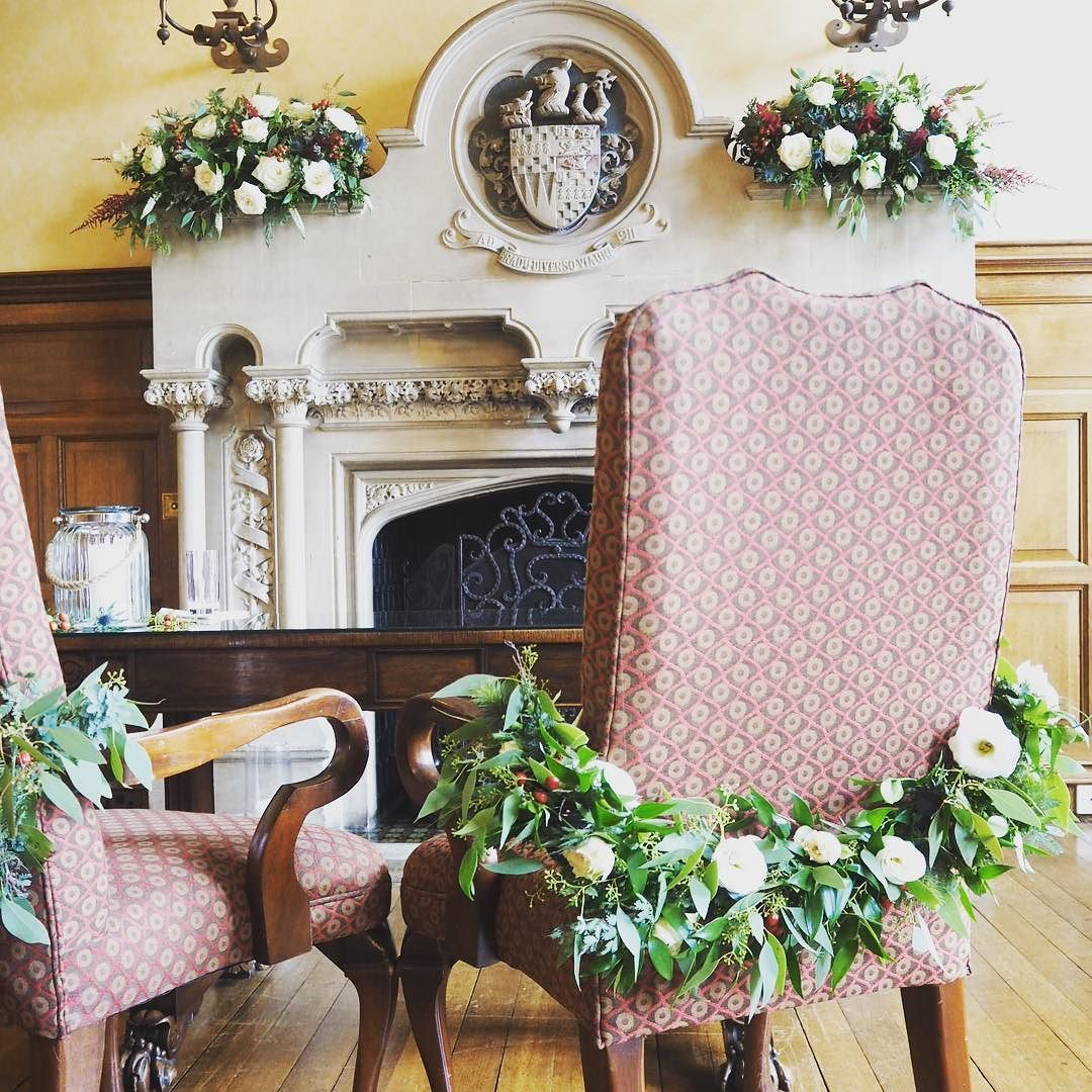 Chair garlands for Ollie and Elisabeth madlilies