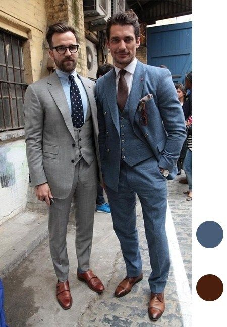 276201ae525 What colour shoes with a blue suit  - Quora